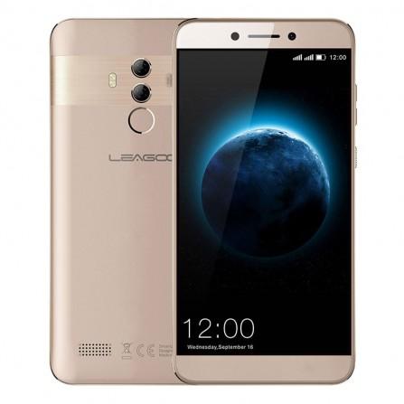 TÉLÉPHONE PORTABLE LEAGOO T8S / 4G / DOUBLE SIM / GOLD