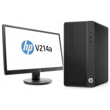 """Pc De Bureau HP 290G2MT / DualCore / 4 Go / 500 Go + ECRAN 20.7"""""""