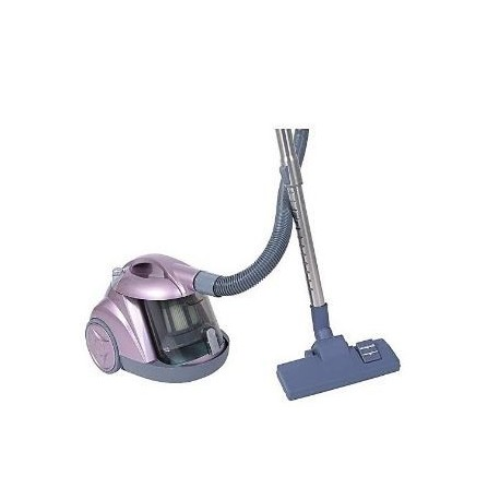 Aspirateur EVERTEK Cyclone  1400 Watt - Rose et Silver(HAS1400)