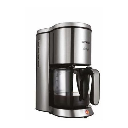 Cafetière 12 tasses Evertek 1250 Watt 1,25L - Inox (KCA12501B)