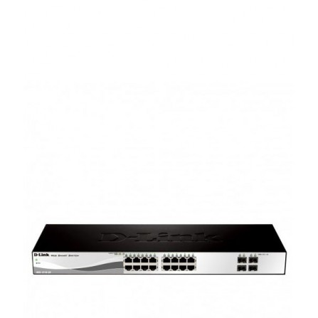 Switch D-Link 16-Port 10/100/1000 Base-T avec SFP Smart Switch