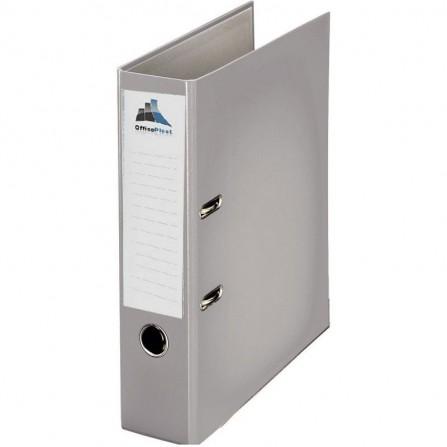 Classeur à levier OfficePlast PLASTIPAP Dos 75mm A4 -gris