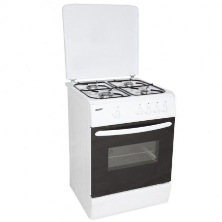 Cuisinière Klass 4 feux 50*60cm - Blanc (CUIS.TG5640BB)