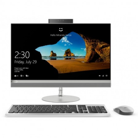 PC de bureau Lenovo Ideacentre AIO 520-22IKU / I3 7è gén / 4 GO / silver
