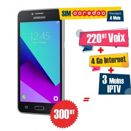 Téléphone Portable Samsung Galaxy Grand Prime Plus / 4G / Noir