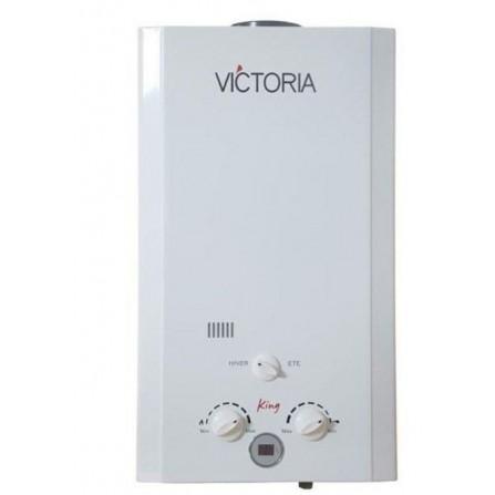 Chauffe bain gaz bouteille Victoria 10L - Blanc (VICTORIA-10L-GB)