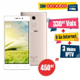 Téléphone Portable Condor Allure A8 / 4G / Gold