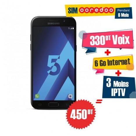 Téléphone Portable Samsung Galaxy A5 2017 / 4G / Noir