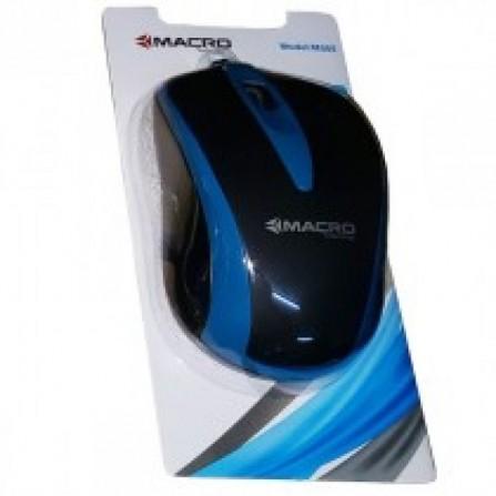 Souris optique USB macro m555 /noir & Bleu