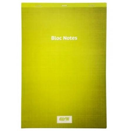 Bloc Note 100 pages 21*29.7 CM A4 5/5 Vert