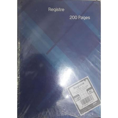 Registre 5/5 200 Pages A4