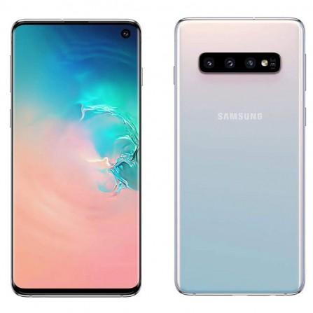 Smartphone SAMSUNG Galaxy S10 Blanc (SM-G973)