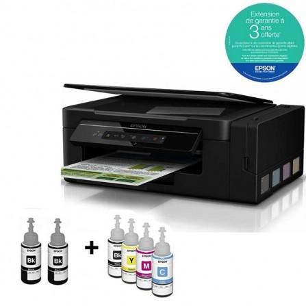 Imprimante Jet d'Encre EPSON L3060 ECOTANK ITS à Réservoir Intégré 3En1 Couleur Wifi