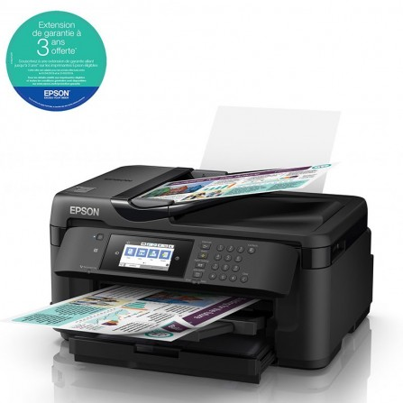Imprimante Jet d'Encre EPSON WorkForce WF-7710DWF Couleur - WiFi