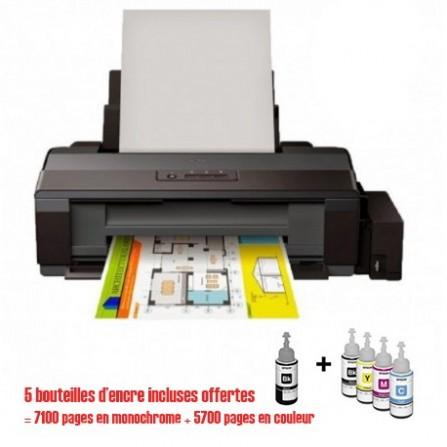 Imprimante Epson L1300 à réservoir intégré ITS A3