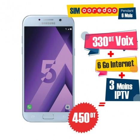 Téléphone Portable Samsung Galaxy A5 2017 / 4G / Bleu