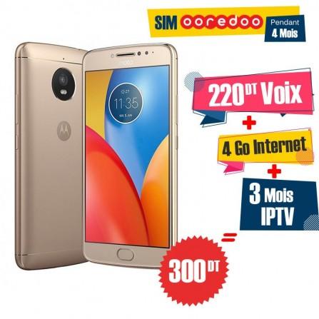 Motorola Moto E4 / 4G / Gold + 3 Mois IPTV