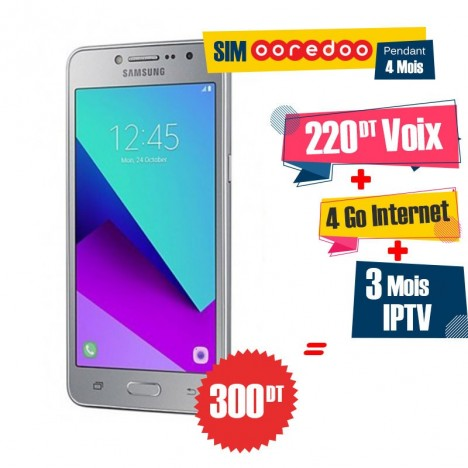 Téléphone Portable Samsung Galaxy Grand Prime Plus / 4G / Silver