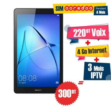 "Tablette HUAWEI MEDIAPAD T3 7"" 3G Gris"
