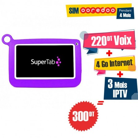 """Tablette SUPERTAB K7 Kids 7"""" Wifi -Violet"""