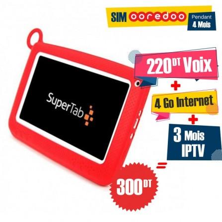 "Tablette SUPERTAB K7 Kids 7"" Wifi - Rouge"