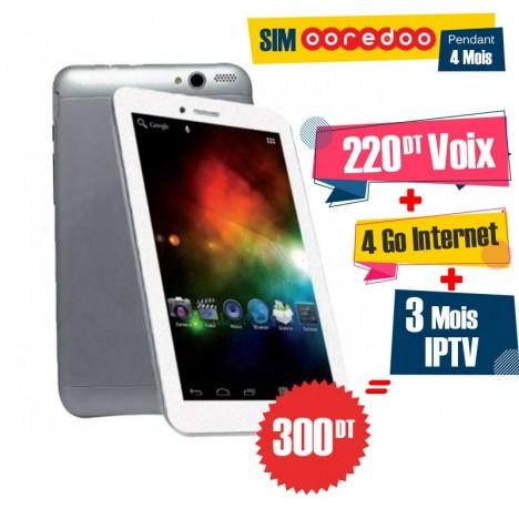 """Tablette Versus V730 7"""" / 4G / Silver"""