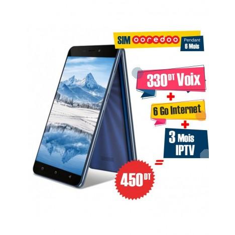 Téléphone Portable Condor P8 Lite / Double SIM / Bleu Foncé