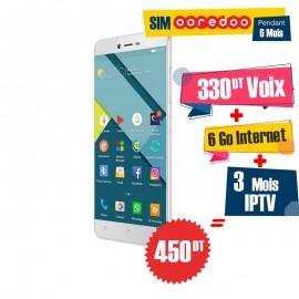 Téléphone Portable Condor Plume  P8 Lite / WHITE