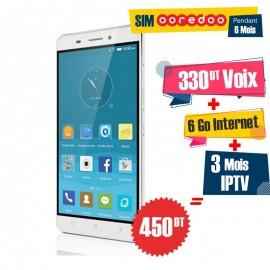 Téléphone Portable Condor Allure A55 / Double SIM / 4G + 1 Mois IPTV Offert