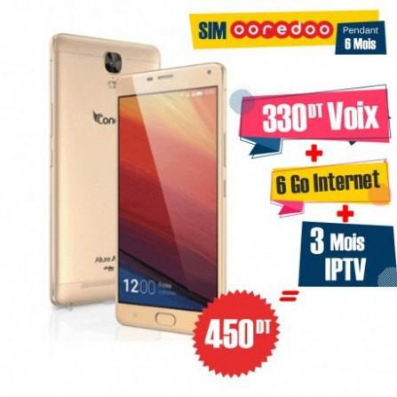 Téléphone Portable Condor Allure A100 Lite / Double SIM / 4G + 1 Mois IPTV Offert