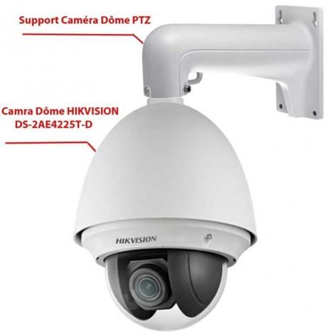Camera De Surveillance Hikvision Speed Dome Ds 2ae4225t D Tunisie