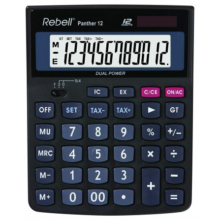 Calculatrice Rebell PANTHER 12 (RE-PANTHER 12)