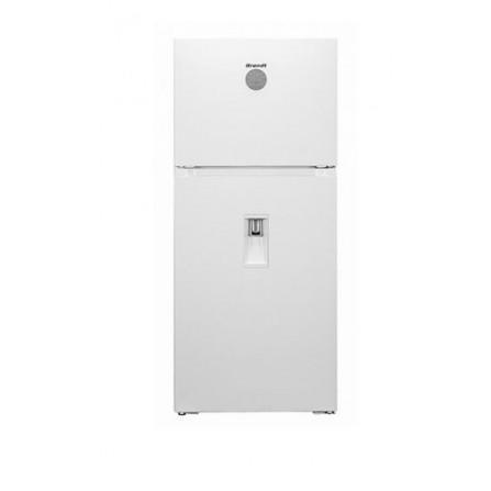 Réfrigérateur Brandt NoFrost 580L avec distributeur d'eau et afficheur- Blanc (BD5612NWW)