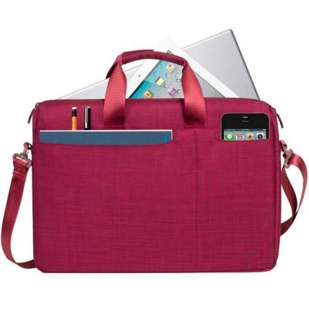 """Sacoche RIVACASE Pour Pc Portable 15.6"""" Rouge 8335"""