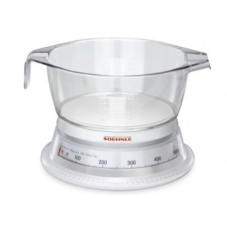 Balance de cuisine Blanc transparent Soehnle