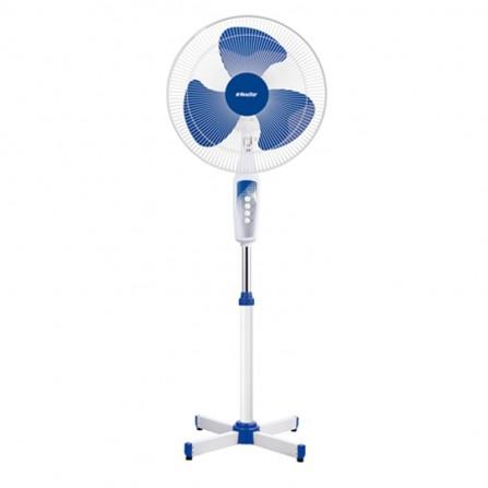 "Ventilateur Sur Pied NEWSTAR 16"" 35W - Blanc & Bleu (FS1605)"