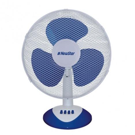 """Ventilateur NEWSTAR FT40 16"""" 40W - Blanc & Bleu"""
