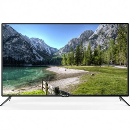"Téléviseur VEGA 55"" UHD LED 4K SMART FLAT+ Air mouse + Support Mural OFFERT"