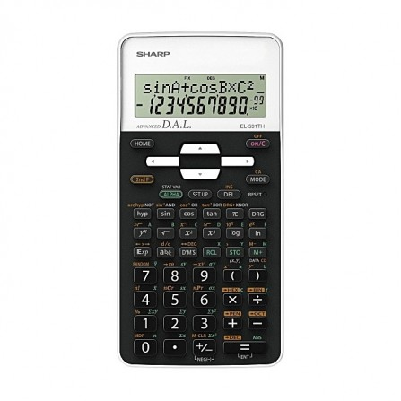 Calculatrice Scientifique Sharp Blanc (EL-531THB-wh)