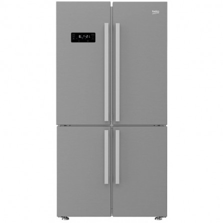 Réfrigérateur Beko Side by Side No Frost 680L - Inox (GN141622XP)