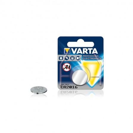 Pile électronique Bouton Varta LITHIUM 3V (CR2016)