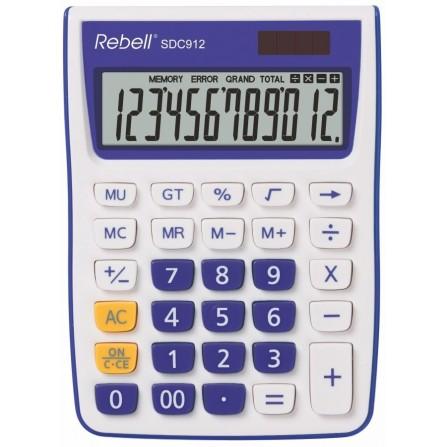 Calculatrice Rebell SDC912 VL BX (RE-SDC912VL BX)