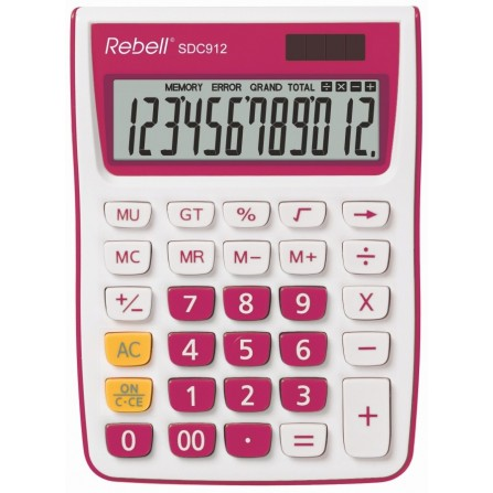 Calculatrice Rebell SDC912 PK BX (RE-SDC912PK BX)