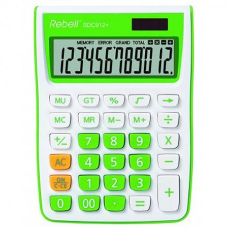 Calculatrice Rebell SDC912GR BX (RE-SDC912GR BX)