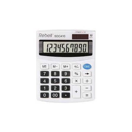 Calculatrice Rebell SDC410BX (RE-SDC410 BX)