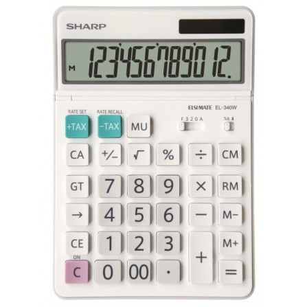 Calculatrice Sharp de bureau EL340W ( EL-340W )