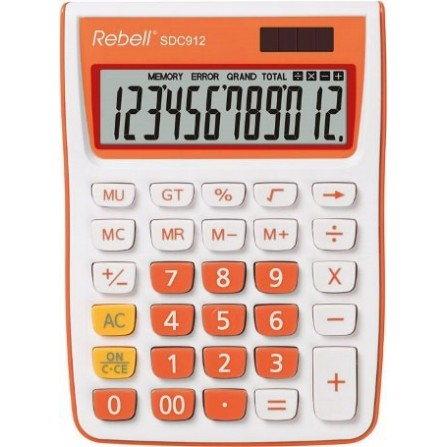 Calculatrice Rebell SDC912 OR BX (RE-SDC912OR BX)