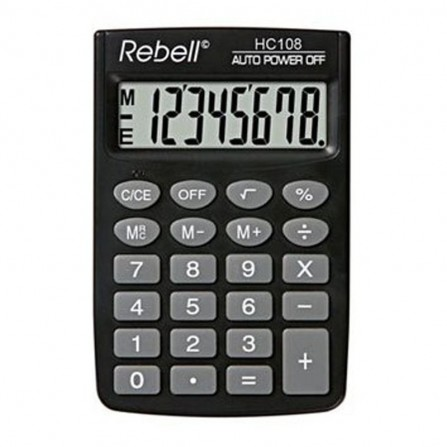 Calculatrice Rebell HC108BX (RE-HC108 BX)