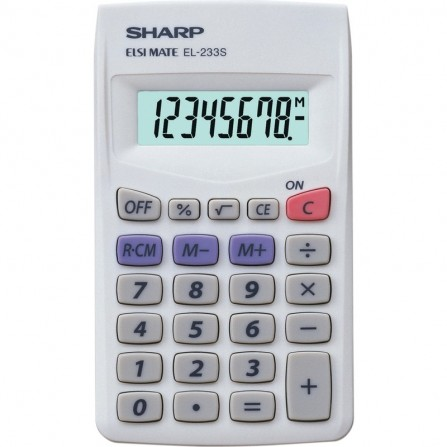 Calculatrice Scientifique Sharp EL-2607PG
