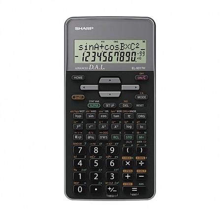 Calculatrice Scientifique Sharp Gris (EL-531TH-GY)